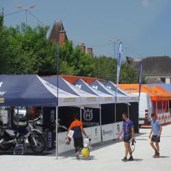 La place du marché Bar sur Seine