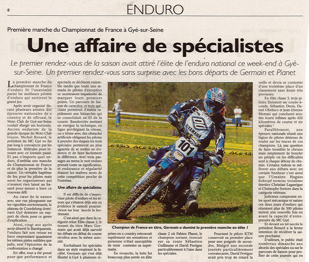Ee article enduro 2006