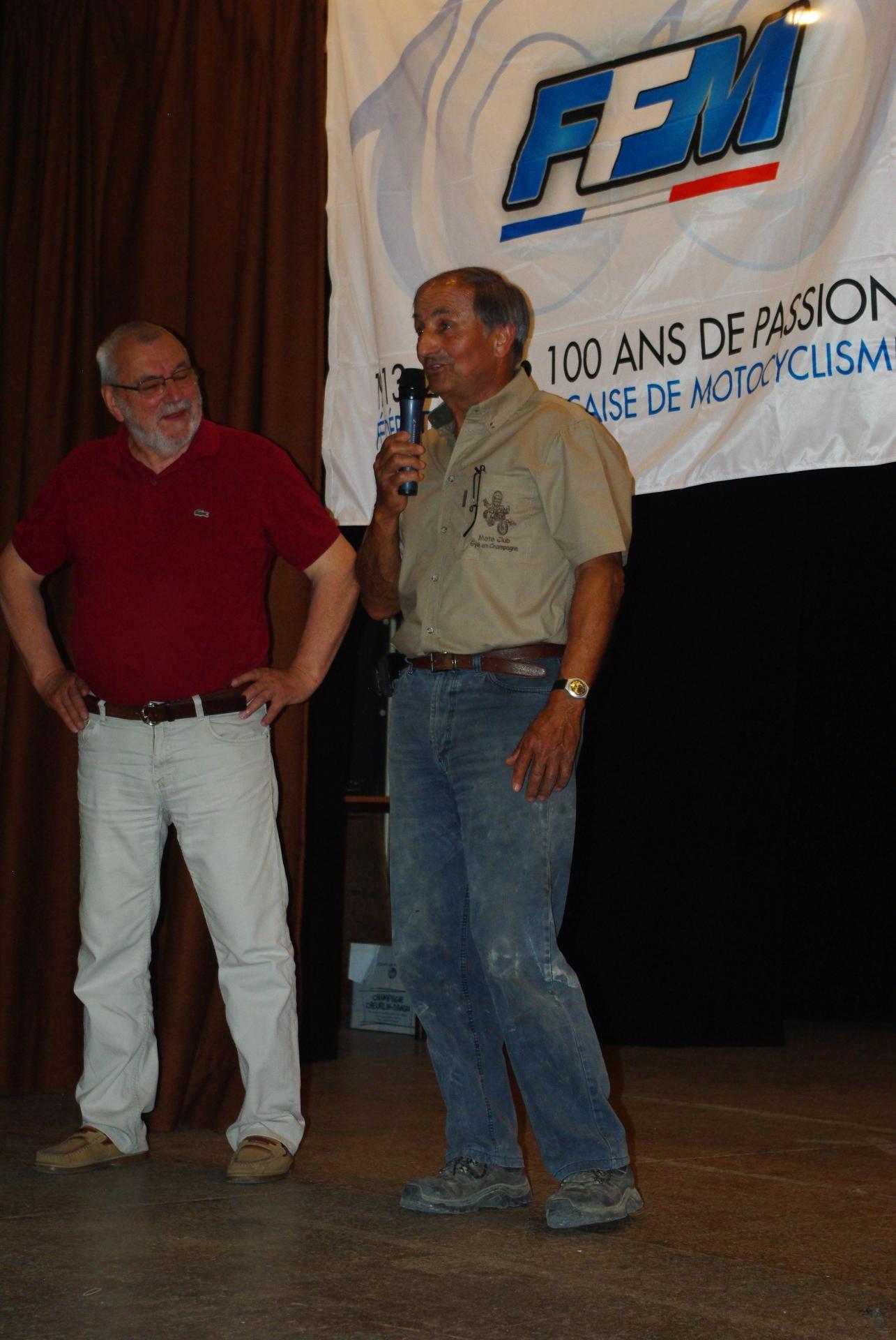 Michel et Mr le Maire de BSS