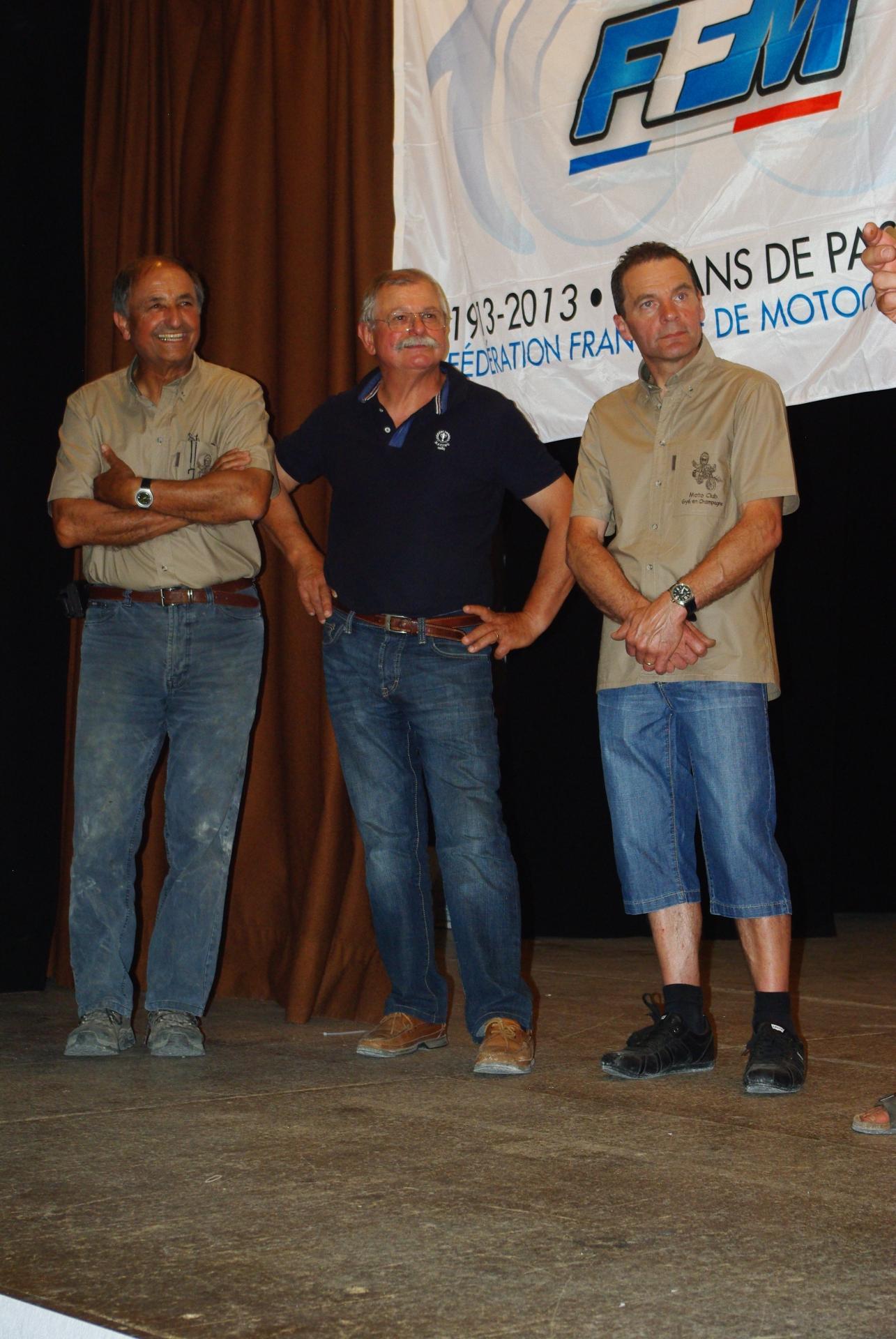 Michel, Loulou, Patrick