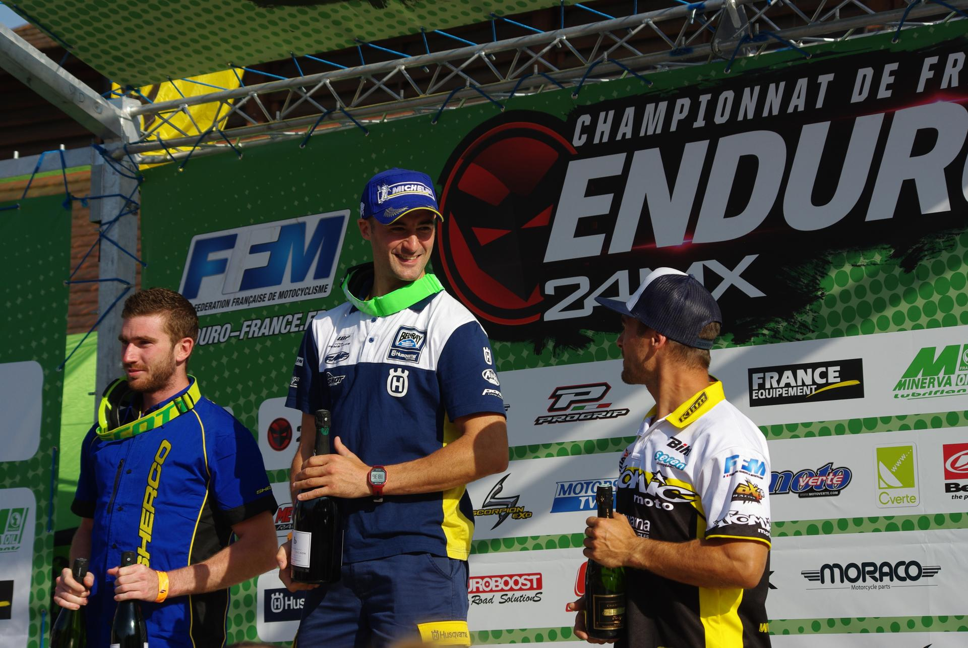Podium E2: Renet, Larrieux,