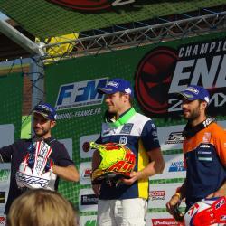 Podium E3: Bellino, Albepart, Joly