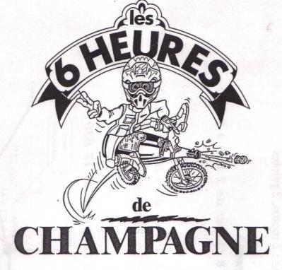 Logo 6 h champagne 1996 copie