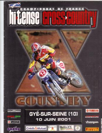 X country 2001